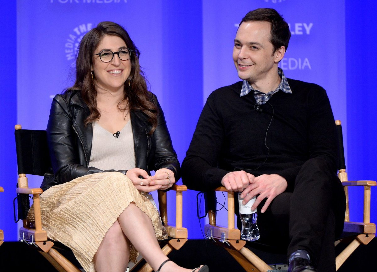 Mayim Bialik and Jim Parsons participate in the Paley Center For Media's PaleyFest 2016 Honouring The Big Bang Theory at The Dolby Theatre on March 16, 2016 in Los Angeles, Calif.