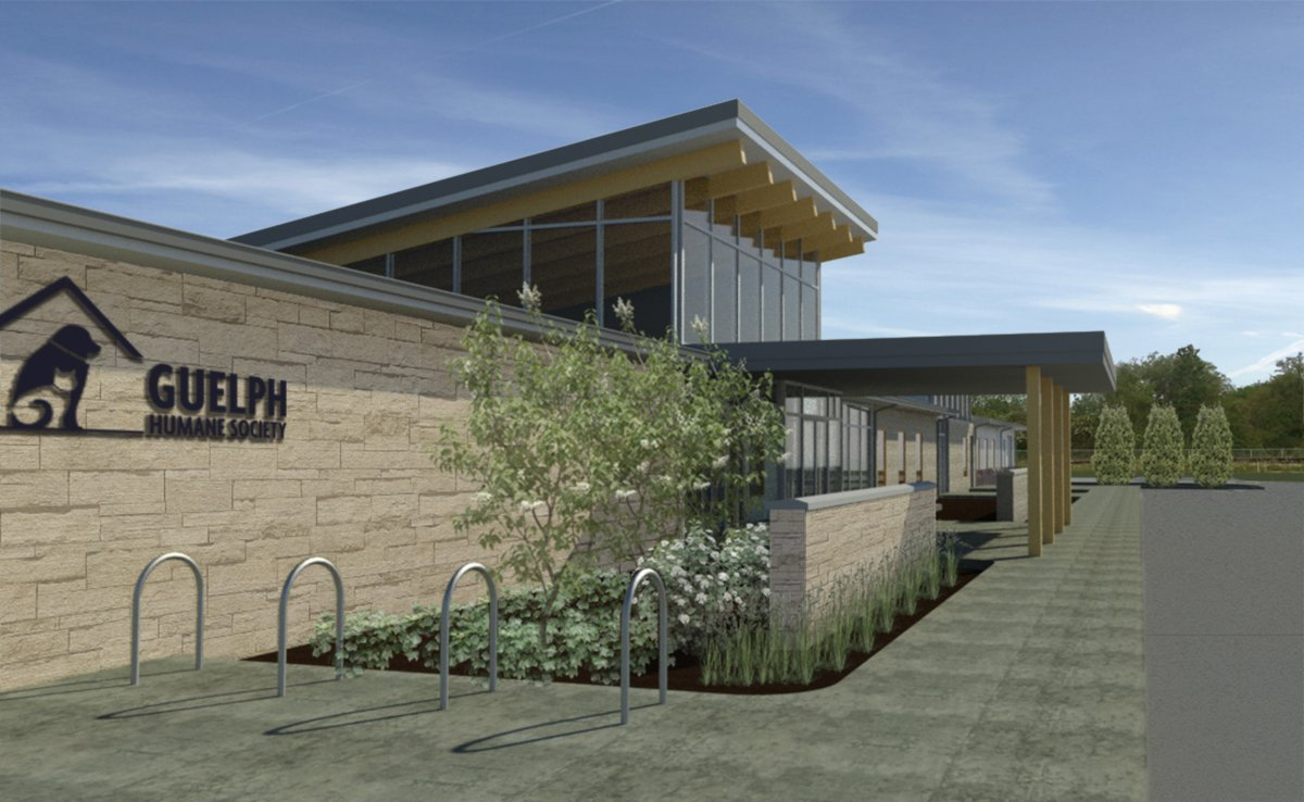 Construction on a new Guelph Humane Society facility is expected to begin later in September.