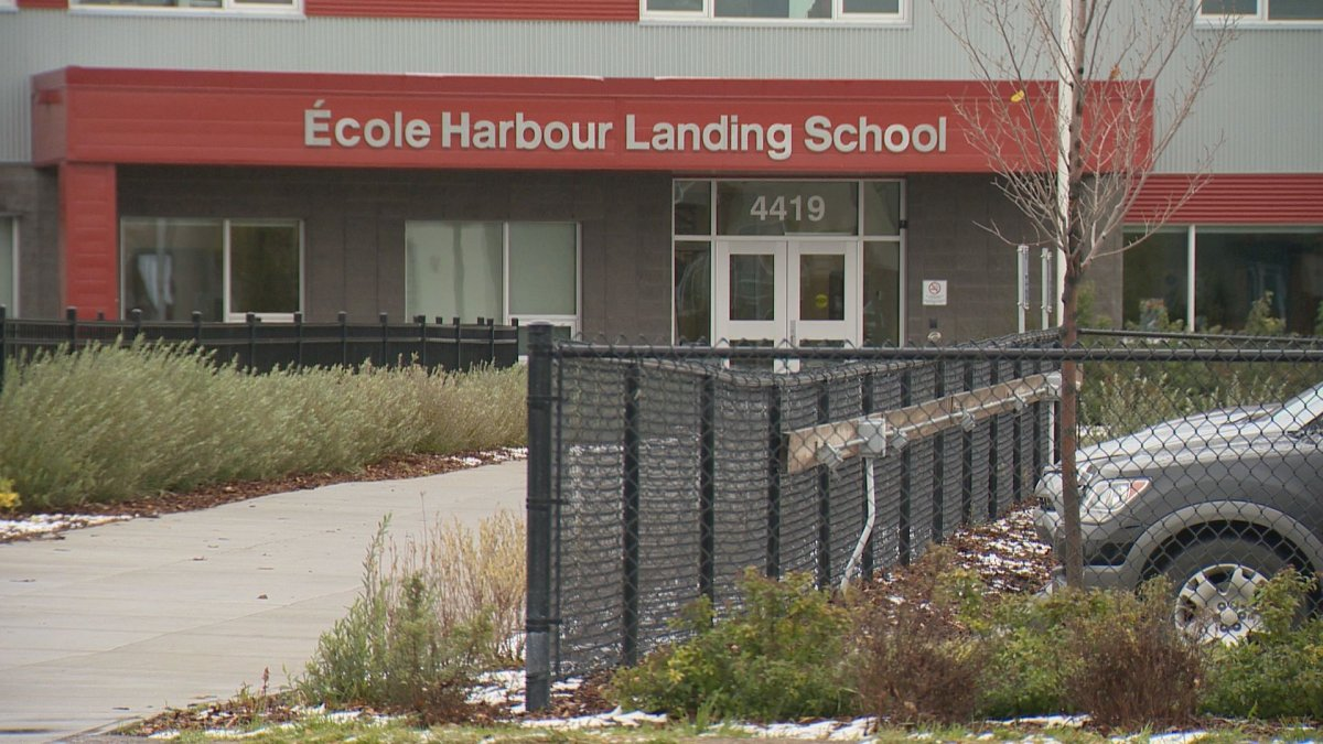 Regina Public Schools said two students at Harbour Landing School have tested positive for the novel coronavirus.