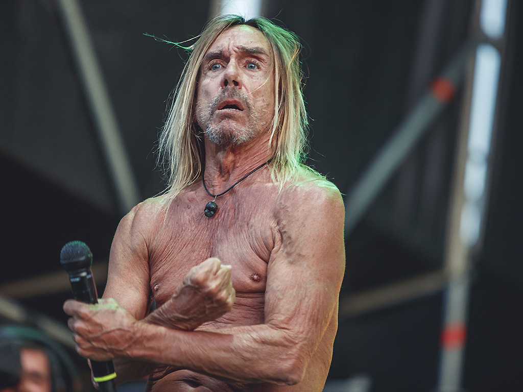 Iggy Pop performs onstage at Madcool Festival on July 11, 2019 in Madrid, Spain.