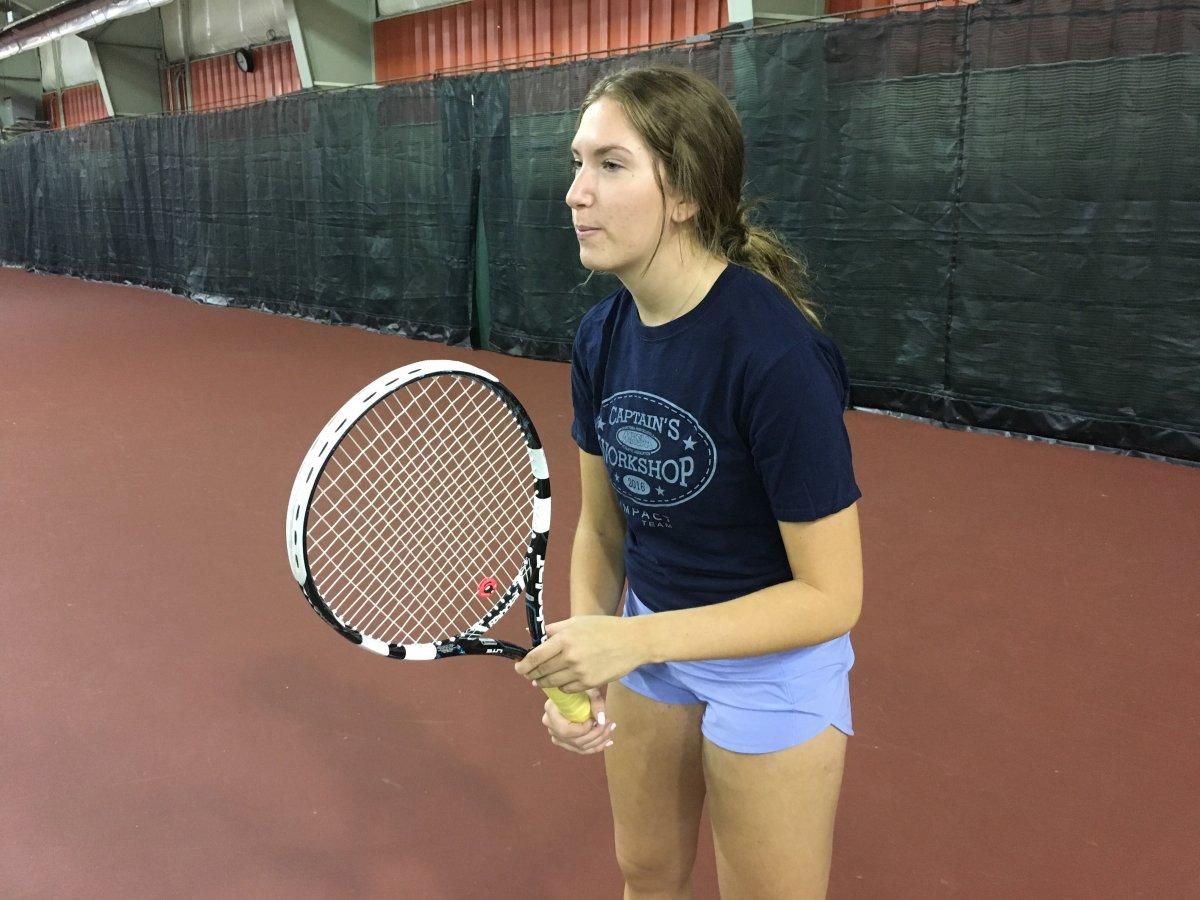 Winnipeg tennis player Spencer Gel-Reimer says Bianca Andreescu's Grand Slam win is an inspiration.