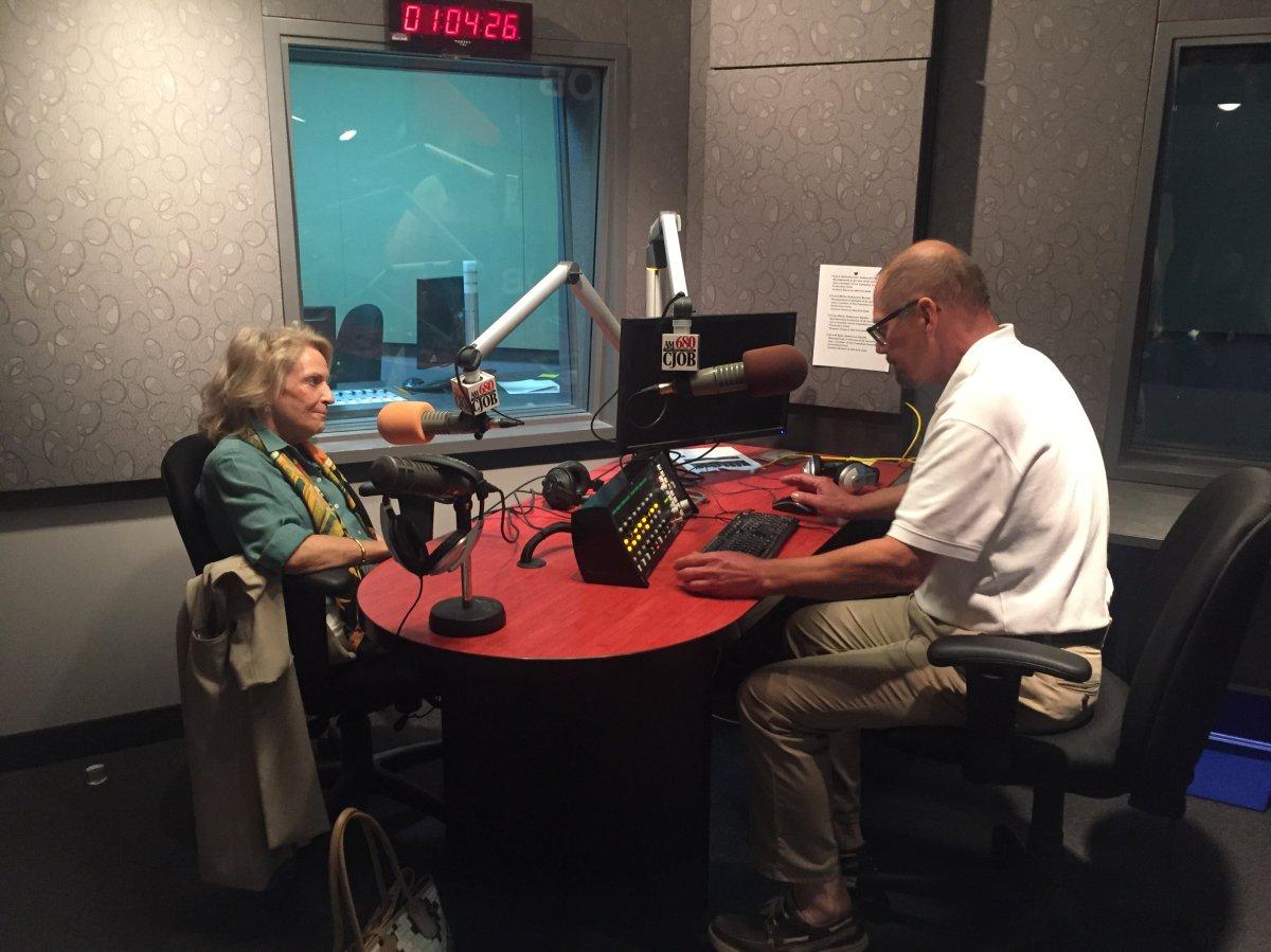 Barbara Berg, daughter of 680 CJOB founder Jack Blick, talks to Geoff Currier.