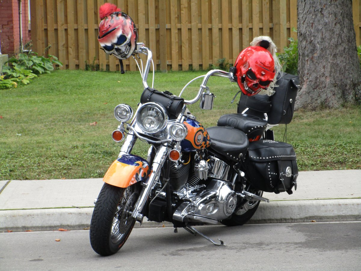 The Sept. 2019 version of Friday the 13th in Port Dover drew many unique cycles to the event.