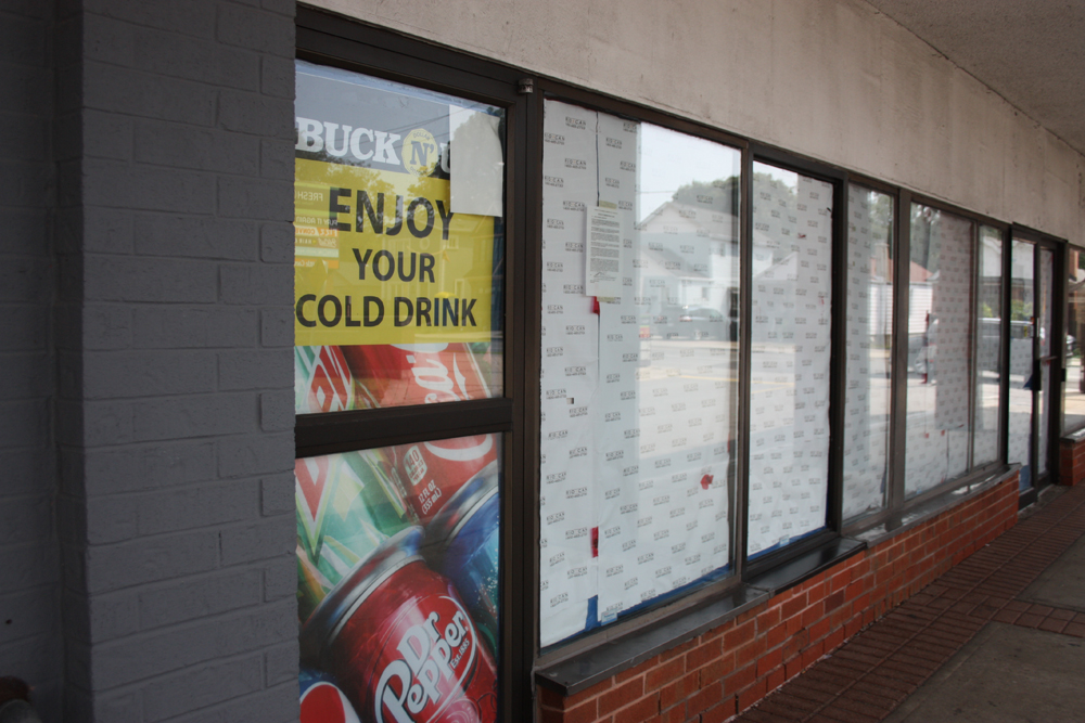 Once slated as the site of a public-sector cannabis store, this Scarborough store location is still vacant.