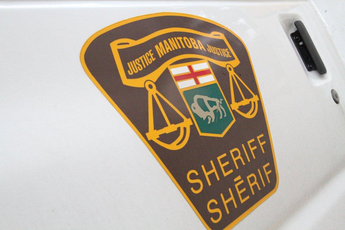 Manitoba Justice Sheriff logo.