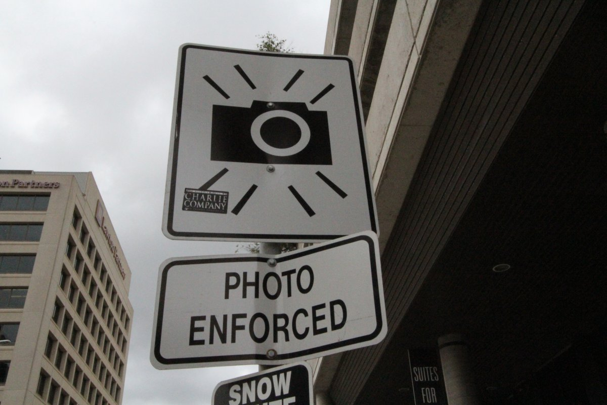 Photo Radar sign