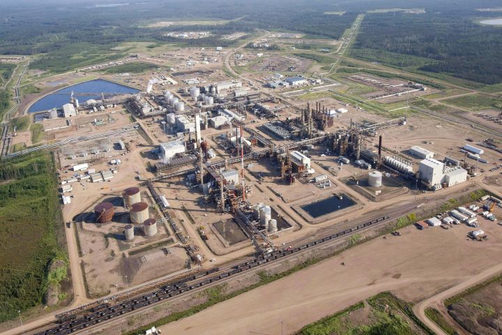 A Nexen oil sands facility near Fort McMurray, Alta., is seen in this aerial photograph on July 10, 2012.