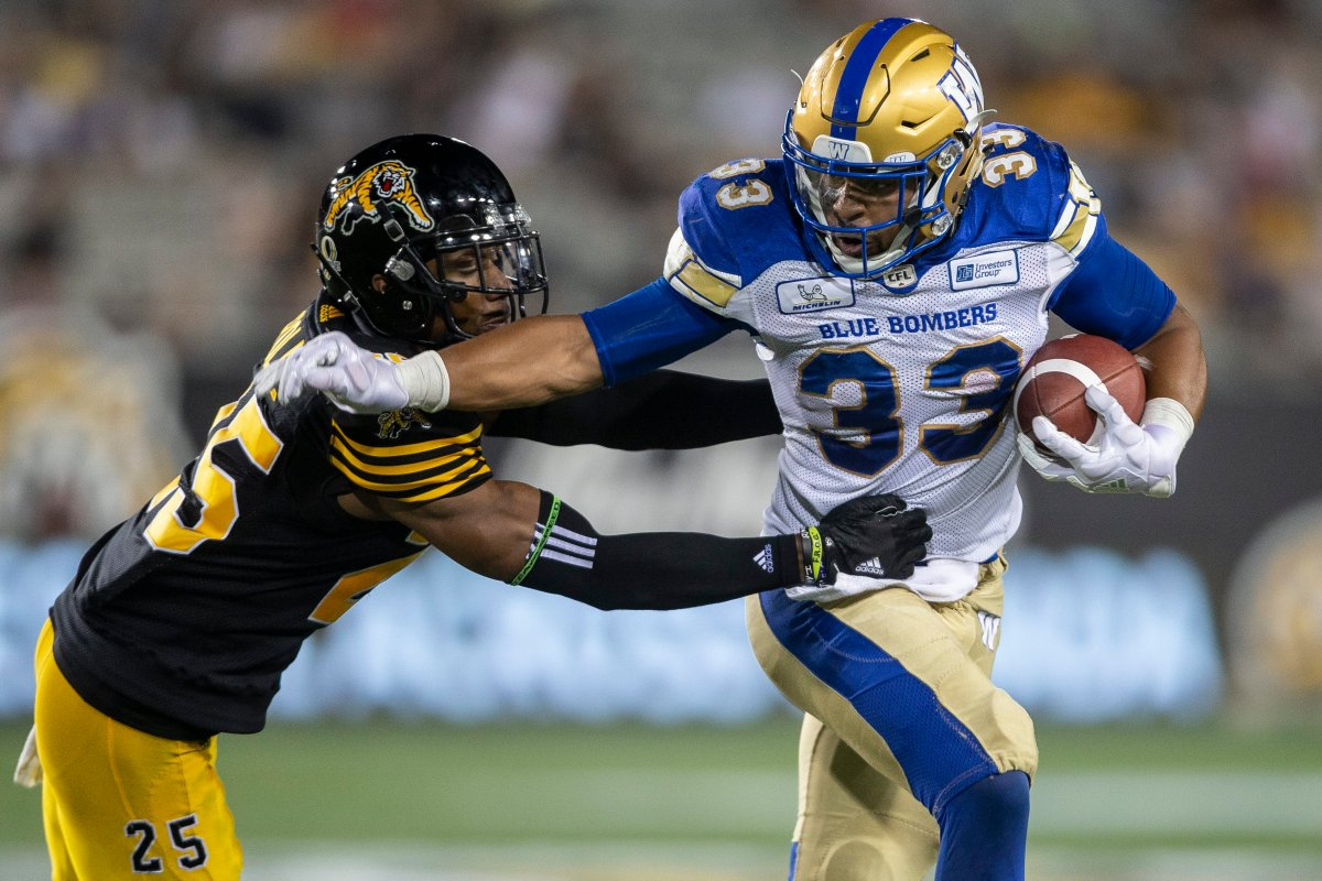 The Hamilton Tiger-Cats have a chance to sweep their season series against the Blue Bombers Friday night in Winnipeg.