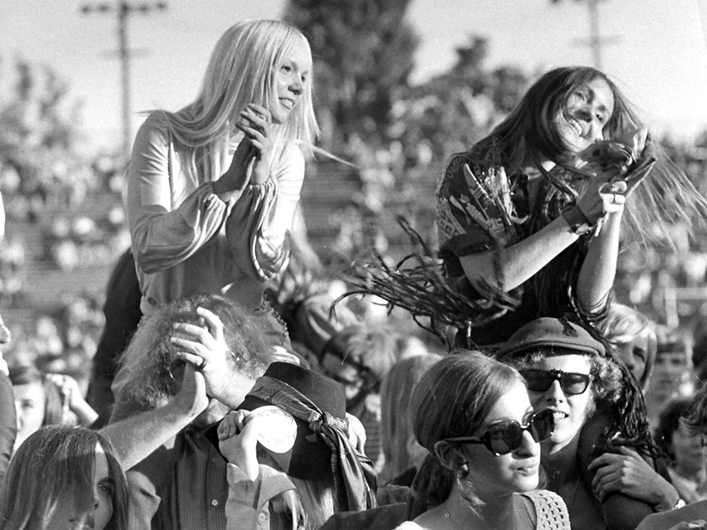 The Toronto Rock & Roll Revival takes place at Varsity Stadium on Sept. 13, 1969.