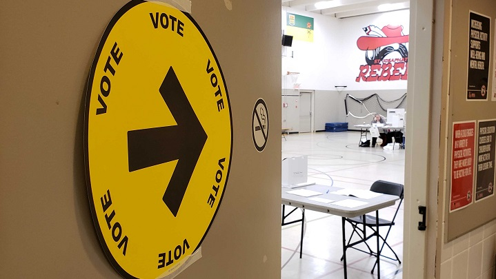Advanced polling stations are now open in both Regina and Saskatoon and will be available up until Monday night.