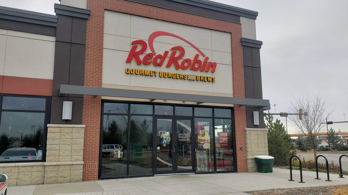 All of the Red Robin restaurants in Edmonton are set to close on Dec. 8, 2019.