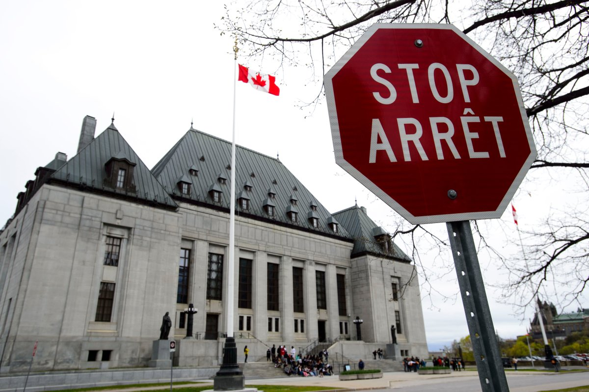 The Supreme Court of Canada in Ottawa on Thursday, May 16, 2019.
