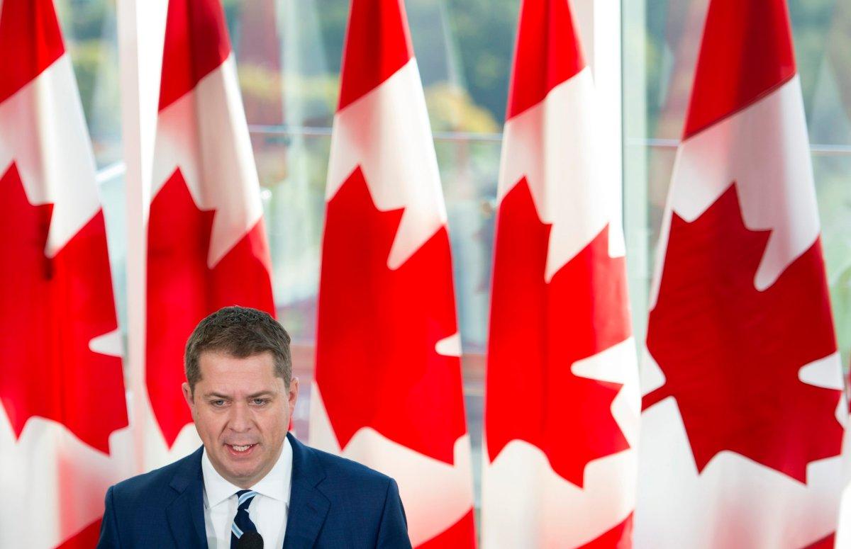 Conservative leader Andrew Scheer.