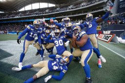 Continue reading: 'It's just so beautiful': Bombers DB marvels at Grey Cup ring as 1-year anniversary nears