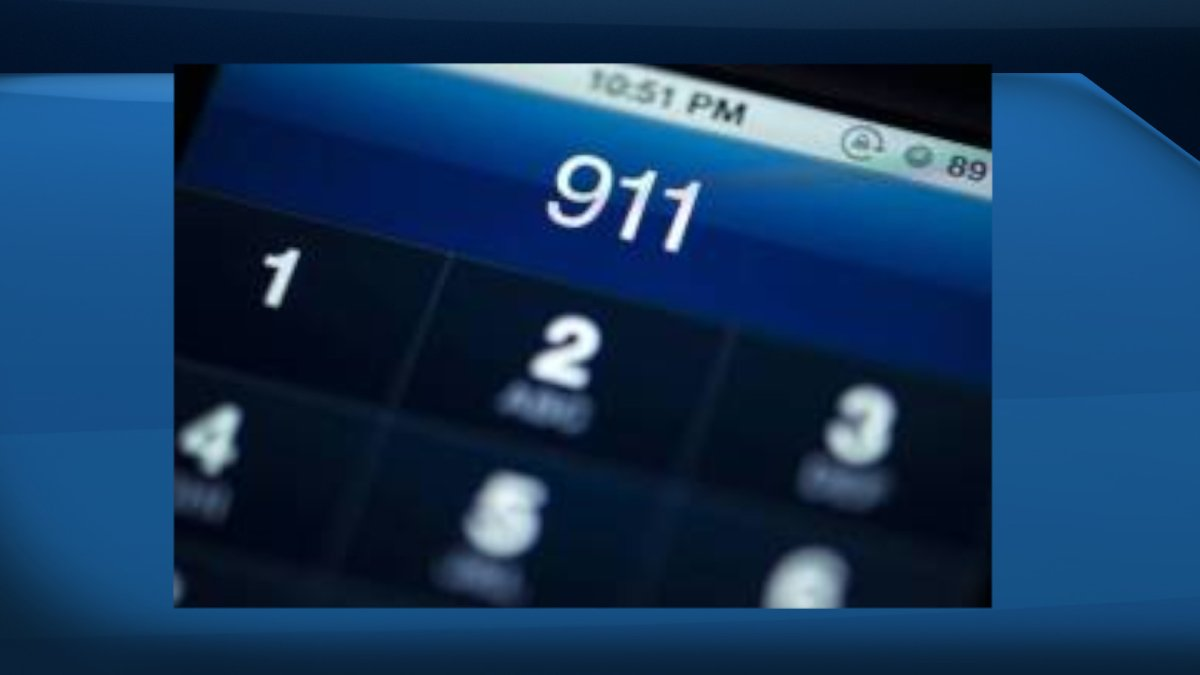 Some Saskatchewan residents are without 911 service after a SaskTel building caught on fire.