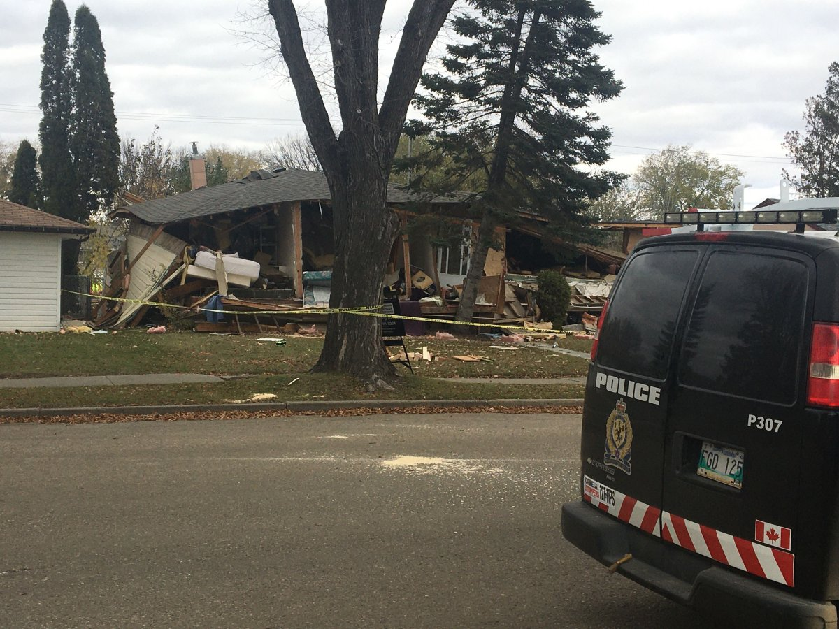 Brandon Police say a 63-year-old man is responsilbe for this house explosion killing a woman.