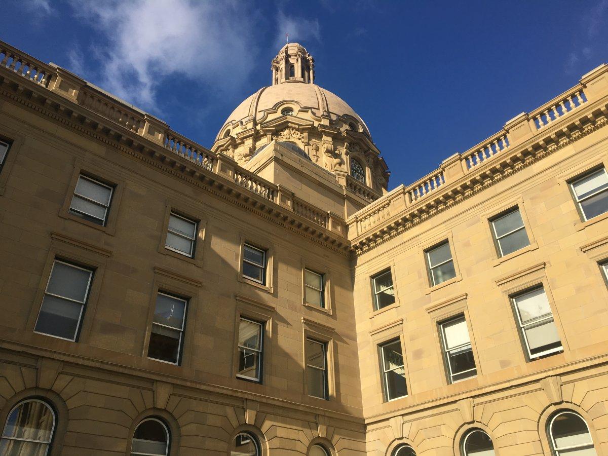 The Alberta legislature pictured in Edmonton Wednesday, Oct. 23, 2019.