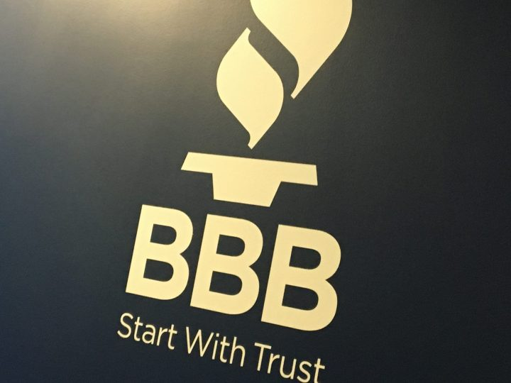 To inquire about a business or to file a complaint, visit bbb.org.