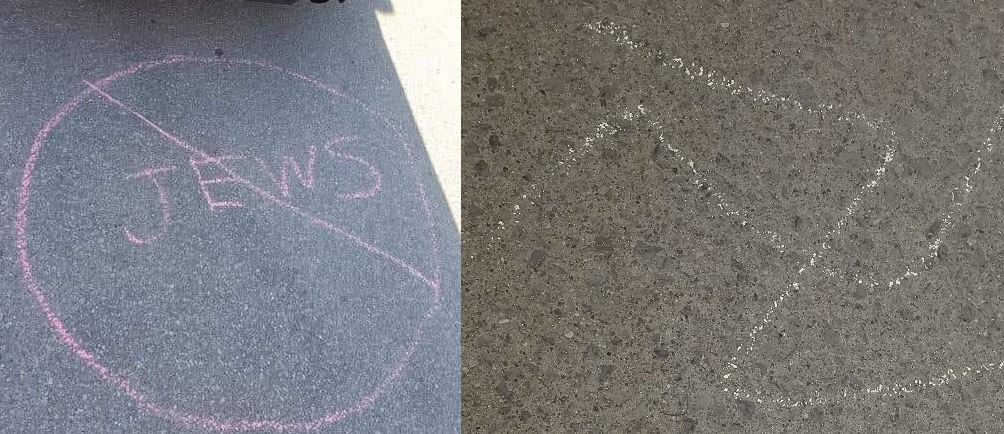 Hamilton Police's hate crime unit is investigating anti-Semitic graffiti that was left outside of the Beth Jacob Synagogue on Friday night.