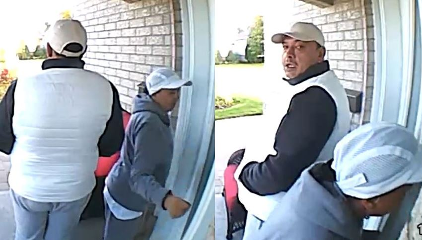 Kingston police say these two people broke into numerous Kingston homes and stole a large amount of jewelry.
