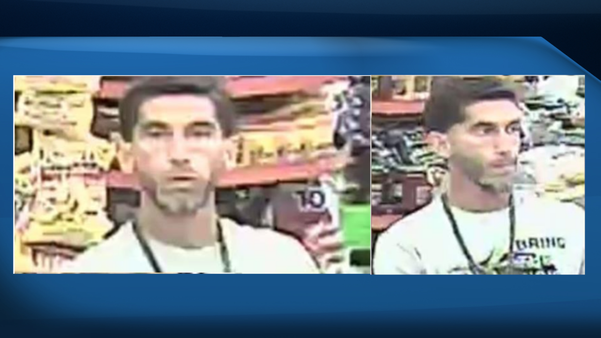 Halton police are looking for a man who allegedly took off after he was arrested for shoplifting in Burlington.