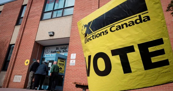 Canada's election results could take a few days due to COVID-19: top official – National   Globalnews.ca