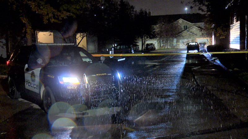 Calgary police investigate a death in the 100 block of Mount Aberdeen Manor Southeast.