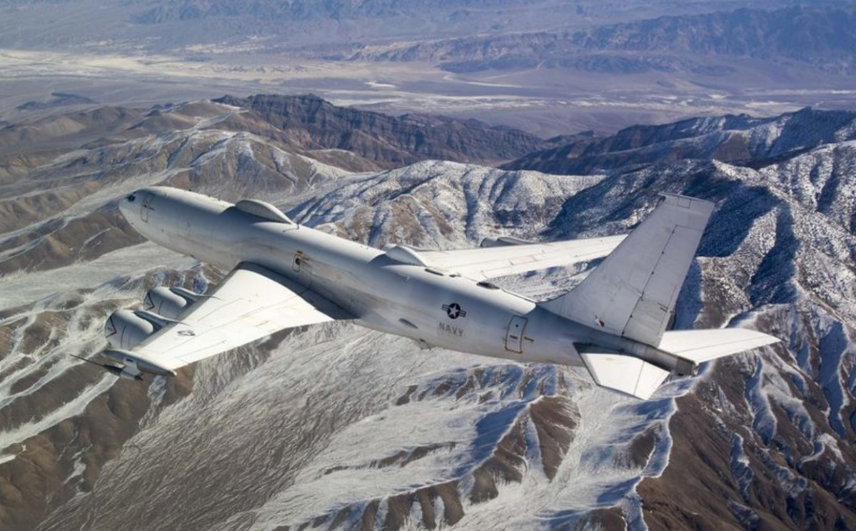 An E-6B Mercury, built to withstand nuclear attacks, was downed by a single bird.