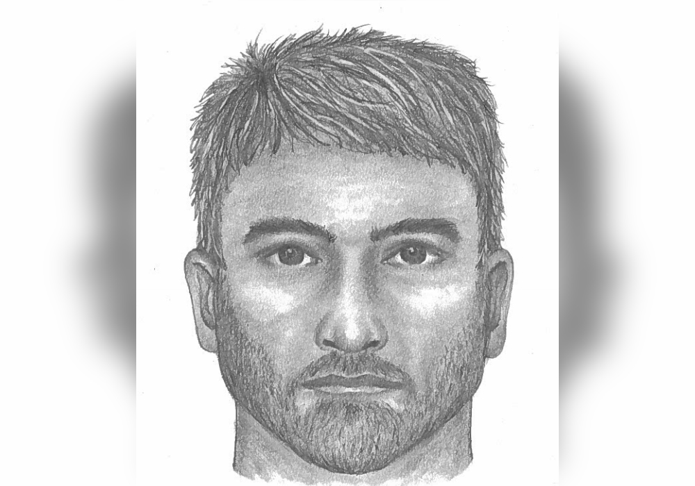 A police composite sketch of a suspect who allegedly exposed himself to a cyclist in West Vancouver on Sept. 20, 2019.
