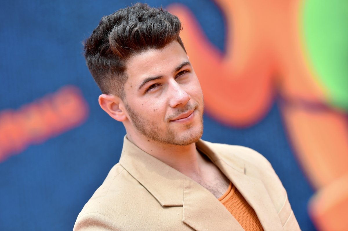 Nick Jonas attends the STX Films world premiere of 'UglyDolls' at Regal Cinemas L.A. Live on April 27, 2019 in Los Angeles, Calif.