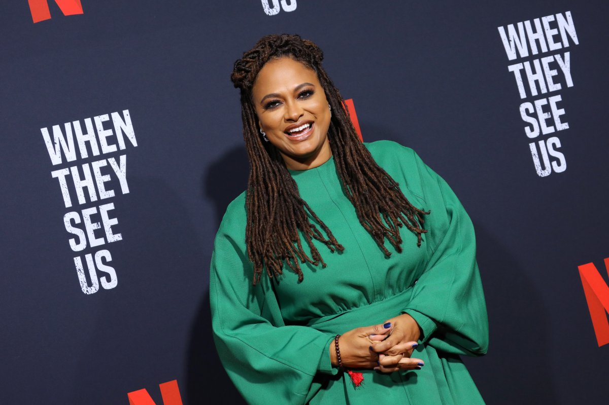 Filmmaker Ava DuVernay attends FYC Event For Netflix's 'When They See Us' at Paramount Theater on the Paramount Studios lot on August 11, 2019 in Hollywood, Calif.