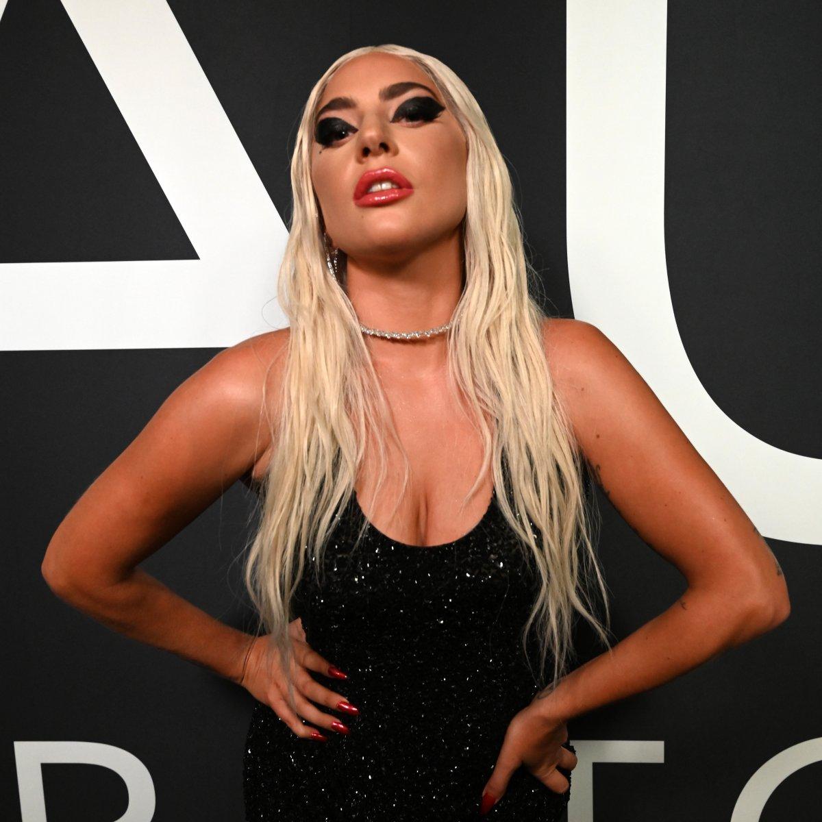 Lady Gaga attends Lady Gaga Celebrates the Launch of Haus Laboratories at Barker Hangar on Sept. 16, 2019 in Santa Monica, Calif.