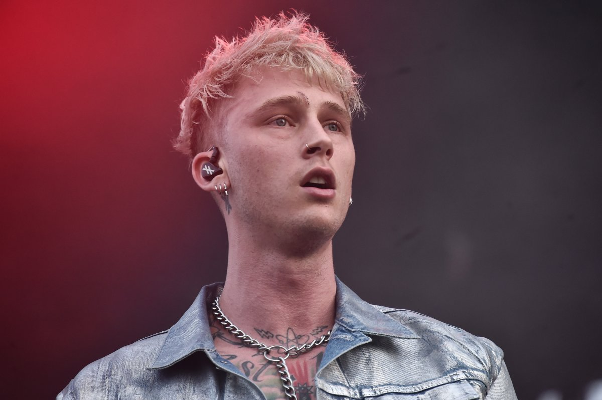 Machine Gun Kelly performs live during Rolling Loud music festival at Citi Field on Oct. 13, 2019 in New York City.
