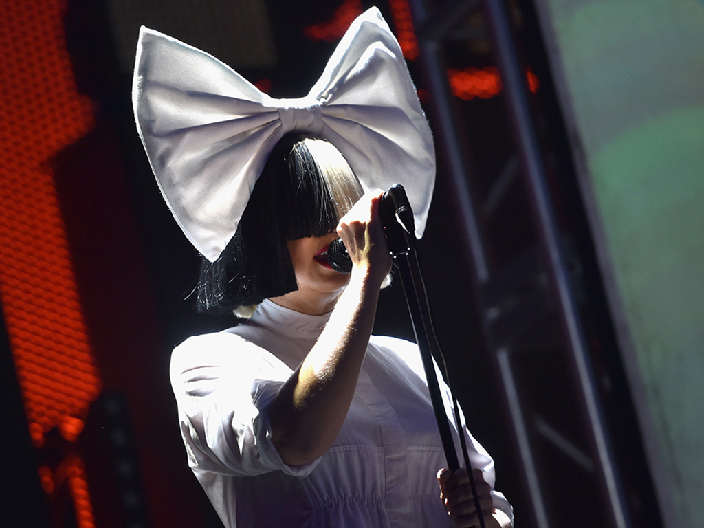 Sia performs onstage at the 2016 iHeartRadio Music Festival at T-Mobile Arena on Sept. 23, 2016, in Las Vegas, Nev.