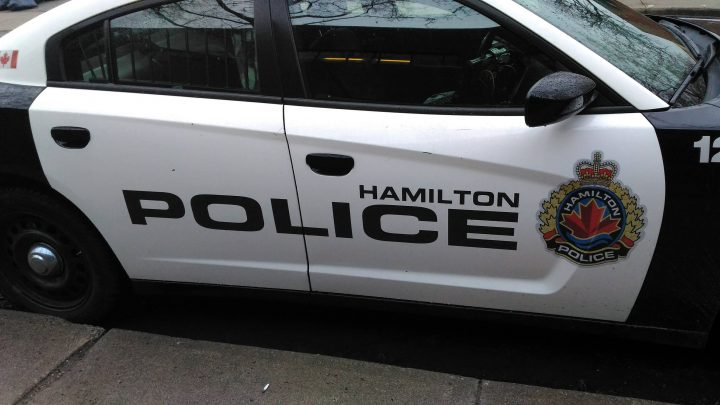 Hamilton police say they caught two drivers street racing on Queenston road Halloween night.