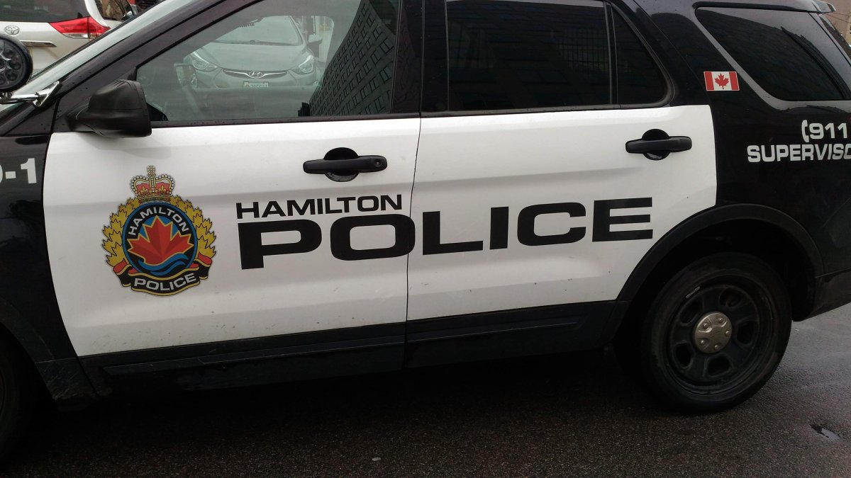 Hamilton police say they're looking for a crossbow and two guns allegedly taken from a home on Case Street.