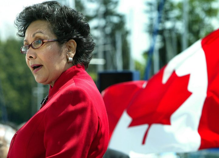 Liberal MP for Vancouver Centre, Hedy Fry.