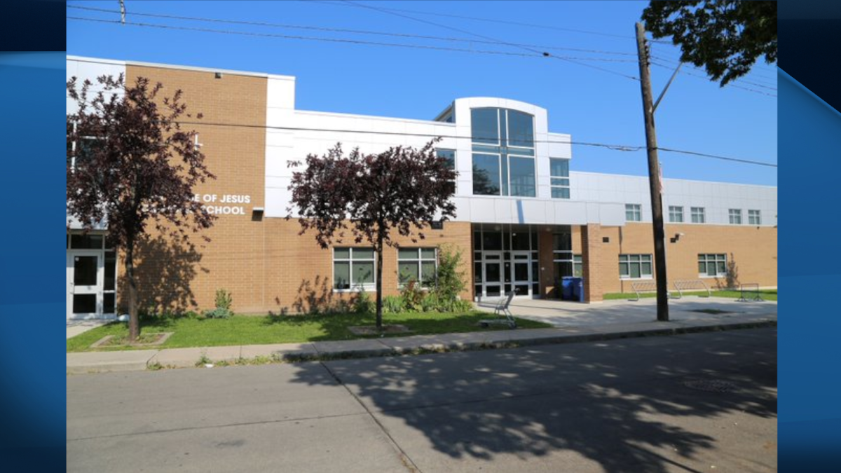 Officials with the Hamilton-Wentworth District Catholic School Board say a threat was made against Holy Name of Jesus Catholic Elementary School on Monday.