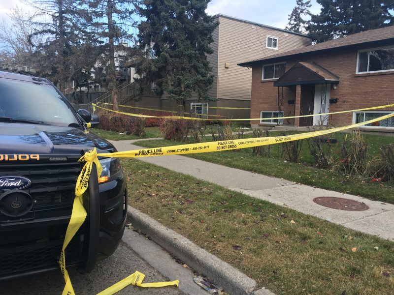 Calgary police arrested and charged a man in connection with the stabbing on Friday.