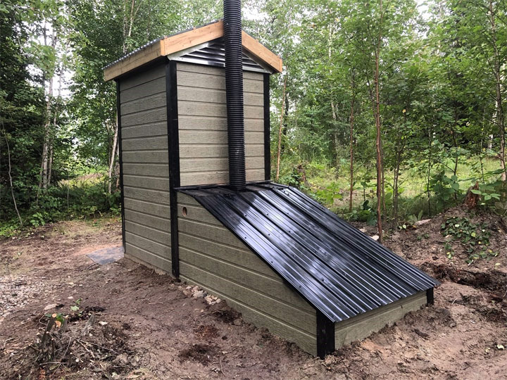 The number of Urine Diverting Vermicomposting Toilets installed through a project in northern Saskatchewan is up to two but work is being done to add more.