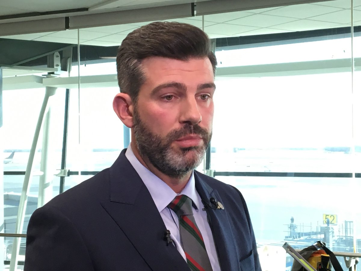 Edmonton Mayor Don Iveson expressed displeasure to the UCP's provincial budget, tabled Thursday, Oct. 24, 2019.