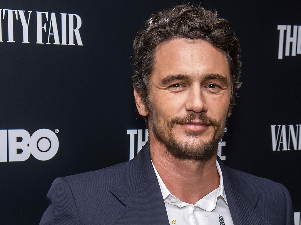 This Sept. 5, 2019 file photo shows James Franco at the premiere of HBO's 'The Deuce' third and final season in New York.  (Photo by ).