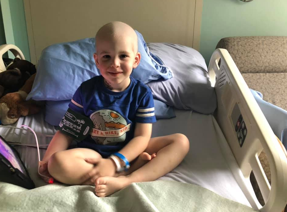 Jude has been diagnosed with Rhabdomyosarcoma of the Nasopharynx, a rare form of head and neck cancer.