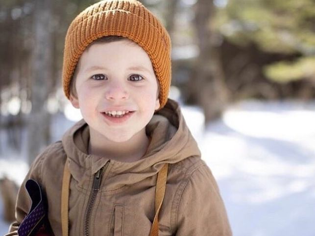 Three-year-old Jude Angus is battling a rare type of head and neck cancer.
