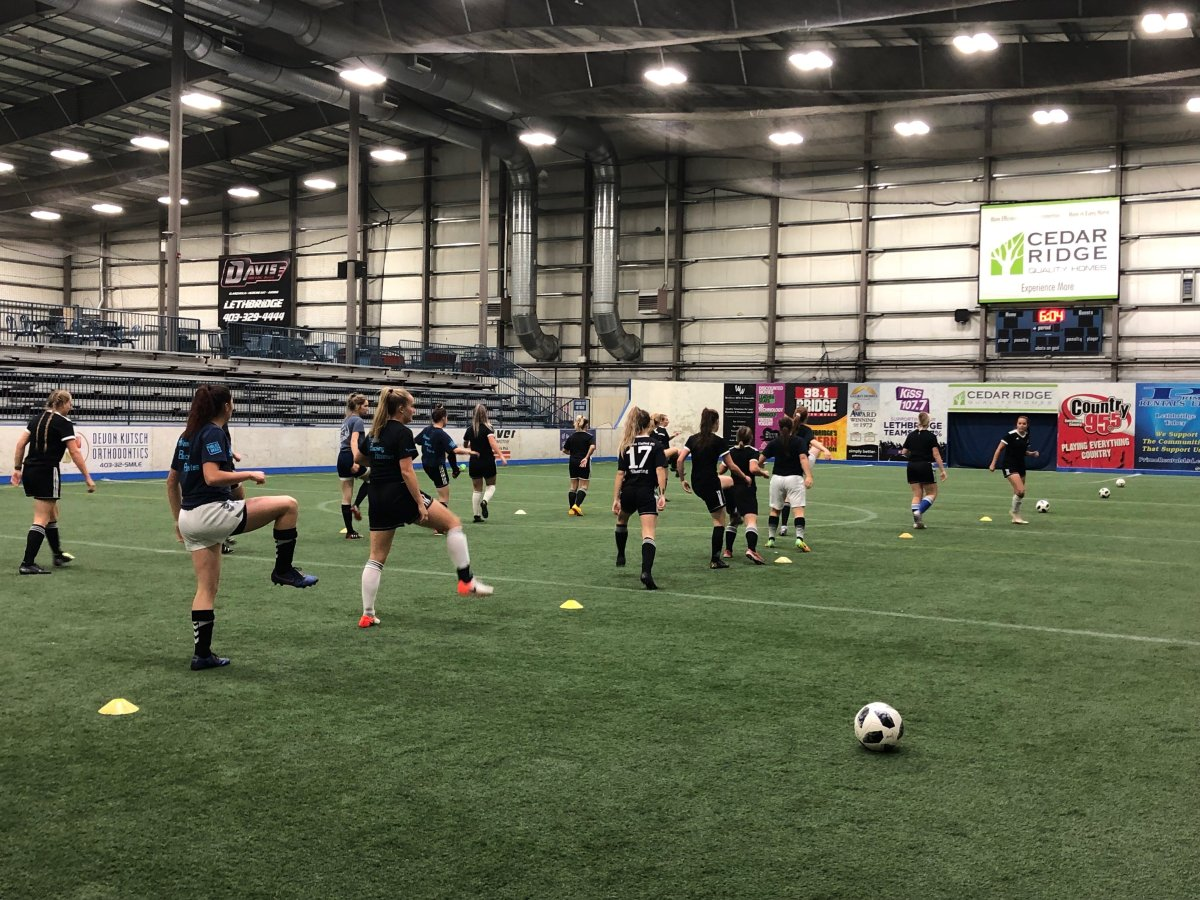 The Lethbridge College Kodiaks' women's soccer team prepares for games against the SAIT Trojans and Olds College Broncos this weekend.