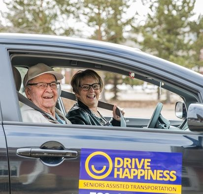 Drive Happiness volunteer and driver.