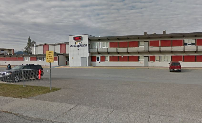 Laurie Middle School in Cranbrook, B.C., was locked down after a weapon warning on Oct. 24, 2019.