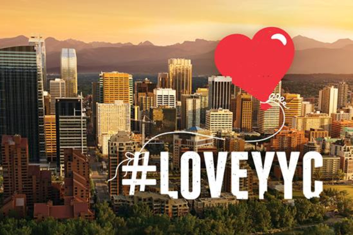 Tourism Calgary describes #LoveYYC Day as a way to promote civic pride and get people to try something new.