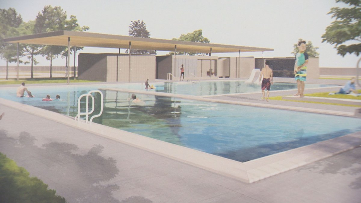 The Maple Leaf pool is one project that will receive funding through the city's new Recreation Infrastructure Program.