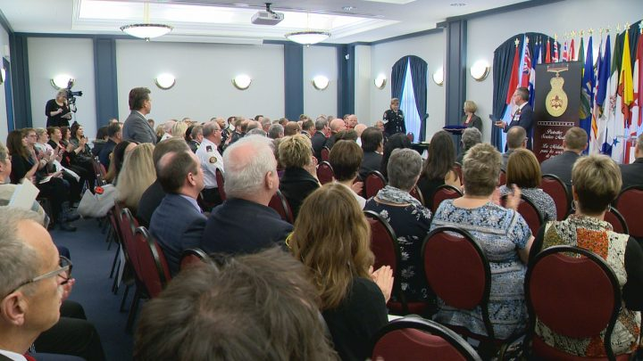 The province honoured the latest recipients of the Saskatchewan Protective Services Medal at a ceremony in Regina.